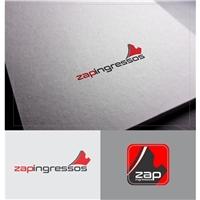 Zap Ingressos, Logo e Identidade, Artes, Música & Entretenimento