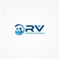 RV , Logo e Identidade, Consultoria de Negócios