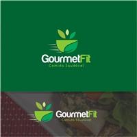 Gourmet Fit / Marmitas saudáveis, Logo e Identidade, Alimentos & Bebidas