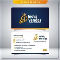 Inova Vendas - Consultoria de Coaching - Eventos - Treinamentos , Logo e Identidade, Consultoria de Negócios