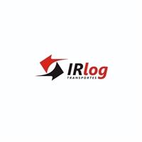 IR LOG TRANSPORTES LTDA (IR LOG), Logo e Identidade, Logística, Entrega & Armazenamento