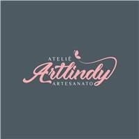 Ateliê Artlindy, Logo e Identidade, Artes, Música & Entretenimento