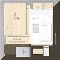 CLÍNICA GALVANIN, Logo e Identidade, Saúde & Nutrição