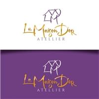 UNODESTAK /  LA MAISON D'OR ATELLIER , Logo e Identidade, Artes, Música & Entretenimento