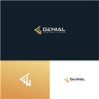 Genial Contabilidade Ltda, Logo e Identidade, Contabilidade & Finanças