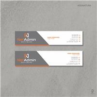 NetAdmin Software, Logo e Identidade, Tecnologia & Ciencias