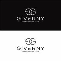 GIVERNY FRAGRANCES (logo) French Privé Club (slogan), Logo e Identidade, Outros