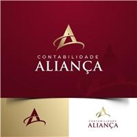 Contabilidade Aliança, Logo e Identidade, Contabilidade & Finanças