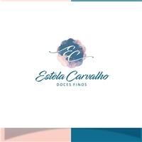Estela Carvalho Doces Finos, Logo e Identidade, Alimentos & Bebidas