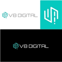 V8 Digital, Logo e Identidade, Consultoria de Negócios