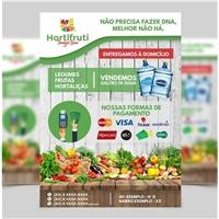 HORTFRUTI SANGUE BOM, Peças Gráficas e Publicidade, Alimentos & Bebidas