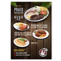 folheto restaurante, Peças Gráficas e Publicidade, Alimentos & Bebidas