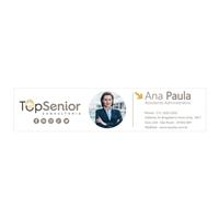 TOP Senior Consultoria Ltda, Logo e Identidade, Consultoria de Negócios