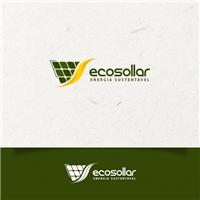 ECOSOLLAR, Logo e Identidade, Metal & Energia
