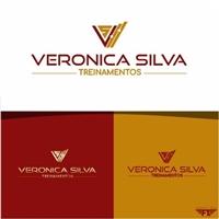 Veronica Silva Treinamentos em Contabilidade, Logo e Identidade, Educação & Cursos