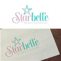 Starbelle Modas e Acessórios., Logo e Identidade, Roupas, Jóias & acessórios