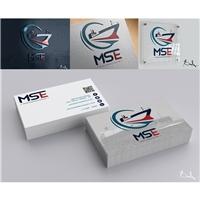 MID SHIP ENG - Naval Consultancy & Survey, Logo e Identidade, Construção & Engenharia