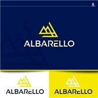 ALBARELLO, Logo e Identidade, Construção & Engenharia