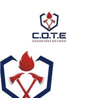 C.O.T.E - Guardiões do Fogo, Logo e Identidade, Educação & Cursos