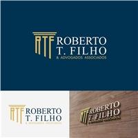 ROBERTO T. FILHO & Advogados Associados, Logo e Identidade, Advocacia e Direito