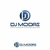 DJ Modas vestuário e acessórios, Logo e Identidade, Roupas, Jóias & acessórios