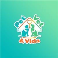 Pet, Vet & Vida, Logo e Identidade, Animais