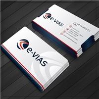 E-Vias Empresa Latino Americana de Consultoria Viária, Logo e Identidade, Construção & Engenharia