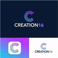 CREATION16, Logo e Identidade, Tecnologia & Ciencias