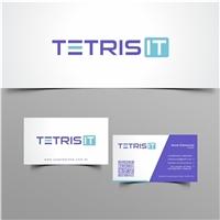 Tetris I.T, Logo e Identidade, Tecnologia & Ciencias
