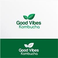 Good Vibes Kombuchá, Logo e Identidade, Alimentos & Bebidas