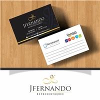 JFernando Representações, Logo e Identidade, Consultoria de Negócios