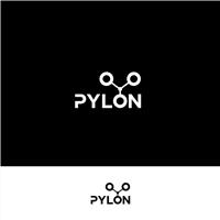 Pylon, Logo e Identidade, Tecnologia & Ciencias