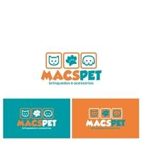 MACS PET, Logo e Identidade, Animais