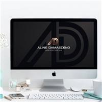 Aline Damasceno , Logo e Identidade, Advocacia e Direito