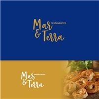 restaurante mar e terra , Logo e Identidade, Alimentos & Bebidas