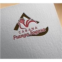 Cabana Franga Fogosa, Logo e Identidade, Alimentos & Bebidas