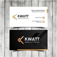 KWATT (ENERGIA FOTOVOLTAICA), Logo e Identidade, Ambiental & Natureza