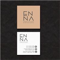 ENNA ARQUITETURA E INTERIORES, Logo e Identidade, Arquitetura