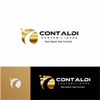 CONTALDI CONTABILIDADE, Logo e Identidade, Contabilidade & Finanças