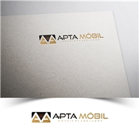 Apta Móbil, Logo e Identidade, Decoração & Mobília