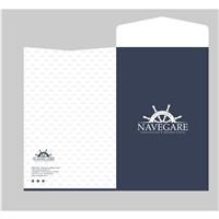 Estaleiro Navegare - Construção e Reparo Naval, Logo e Identidade, Construção & Engenharia