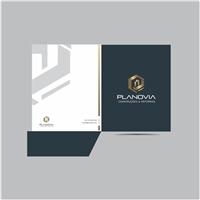 PLANOVIA CONSTRUÇÕES & REFORMAS EIRELI, Logo e Identidade, Construção & Engenharia
