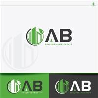 AB Soluções Ambientais, Logo e Identidade, Ambiental & Natureza