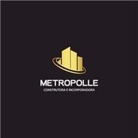 METROPOLLE CONSTRUTORA E INCORPORADORA LTDA, Logo e Identidade, Construção & Engenharia