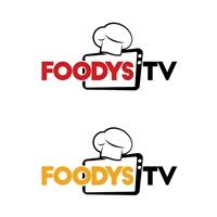FoodysTV, Logo e Identidade, Alimentos & Bebidas