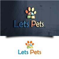 Lets Pets, Logo e Identidade, Animais