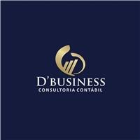 D'Business Consultoria Contábil, Logo e Identidade, Contabilidade & Finanças