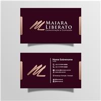Maiara Liberato Comunicação e Conteúdo, Logo e Identidade, Marketing & Comunicação