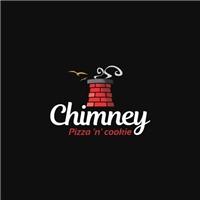 Chimney Pizza 'n' cookie, Logo e Identidade, Alimentos & Bebidas