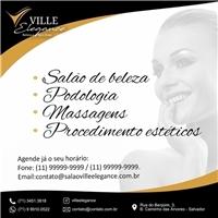 Ville Elegance Beleza e Bem EstarVille Elegance Beleza e Bem Estar, Web e Digital, Beleza